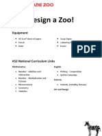 KS2 - Design a Zoo With a Budget 2015_EDUCATION
