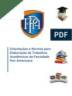 Manual de Normas e Trabalhos Acadêmicos Da Faculdade Pan Americana (2016)(1)