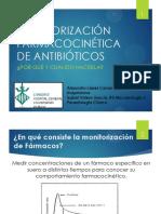 Monitorización Farmacocinética de Antibióticos