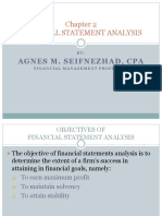 Chapter 2 Foundations Financial Statement Analysis