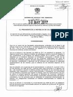 Decreto 915 Del 30 de Mayo de 2017
