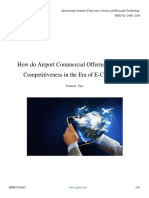 How Do Airport Commercial Offerings Maintain Competitiveness in the Era of E Commerce