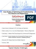 Case Studies of Optimizing and Troubleshooting FCC Reactors and Regenerators CPFD Software FCCU Galveston 2013