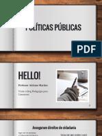 Políticas Públicas - Pedagogia Para Concursos
