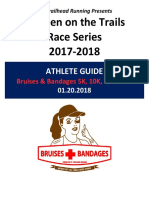 2018 Bruises and Bandages Athlete Guide