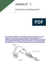 SEMANA N°7(Funcionamiento de las servodirecciones)