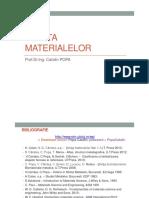 Stiinta Materialelor 1