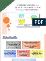 12. Inhibidores de La Biosisntesis de Acido Tetrahidrofolico