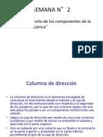 SEMANA N°2(Funcionamiento de los componentes de la dirección mecánica).pptx