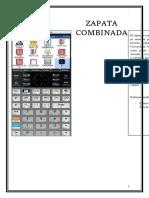 Manual de Zapata Combinada