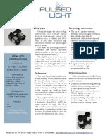 LIDAR Lite Laser Datasheet