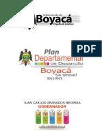 Plan de Desarrollo de Boyaca