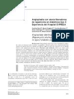 Anglioplastia Con Stents Liberadores de Rapamicina en Diabeticos