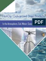 Desempeño de los productos de acero galvanizado.
