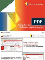Instructivo cuenta masiva banco de venezuela