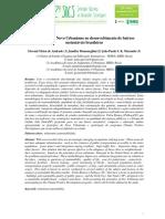 Princípios Do Novo Urbanismo No Desenvolvimento de Bairros Sustentáveis Brasileiros