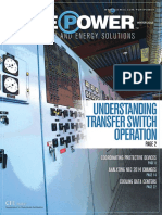 Understanding Transfer Switch Operation - Winter 2015