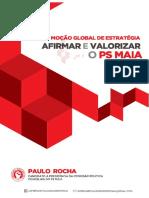 """Moção Global de Estratégia """"Afirmar e Valorizar o PS Maia"""""""