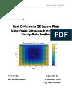 2D Heat Equation Code Report.pdf