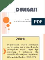Huda.delegasi