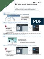 MS Decoder 64 Start-up Guide English