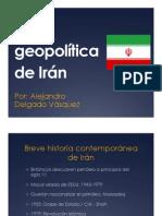 La geopolítica de Irán