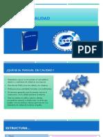 Manual de Calidad PowerPoint Mariana