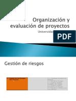 Organización y Evaluación de Proyectos_riesgos