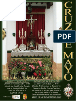 Cartel Cruz de Mayo 2017
