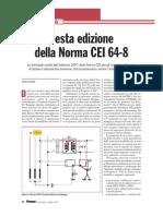 CEI 64-8 sesta edizione