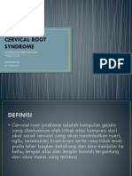 Cervical Syndrome
