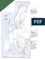Espaços Geográficos Europa