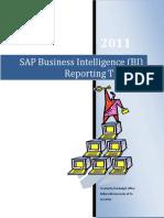 Business Intelligence Training Manual