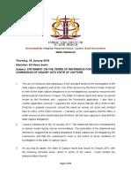 Media Statement Public Protector 18012018