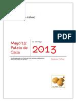 Mayo'13 Patatas de Cella