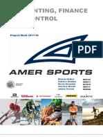 Amer Sports' Financial Analysis