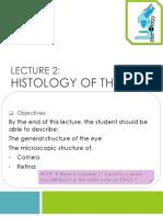 l2- Histology of the Eye
