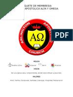 Membership Package (Spanish) Full