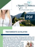 "Mascarilla Rejuvenecedora ""ORO PERUANO 24 KILATES"""