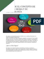 Entiende El Concepto de Los Seis Sigma y Su Metodología