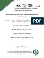 teorias de la organizaciones