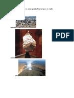 Cuáles son los tipos de rocas y cada foto de tipos de piedra.doc