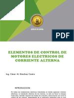 Elementos de Control de Motores Eléctricos