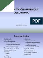 Representación Numérica y Algoritmia