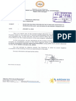 Memo for LGSF-AM 2018 Revision of LGU Priority Projects