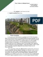 Peru. Civilizatia Incașă
