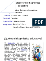 Plan Para Elaborar Un Diagnóstico Educativo