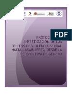 protocolo de delitos sexuales