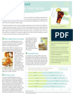 Corn Cyrup Info