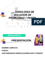 7 PASOS Versión Exel